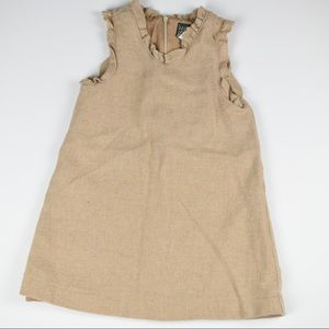 Vintage Size 4T Girl Wool Pinafore/Dress (#F359)